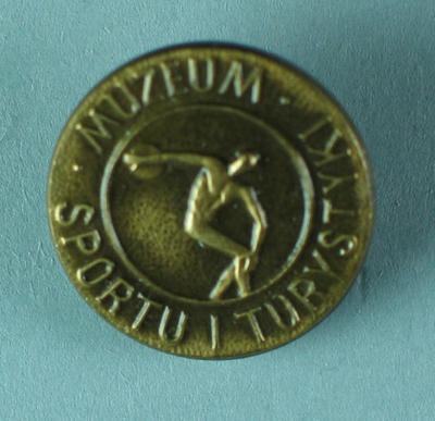Lapel pin, Polish Museum of Sports & Tourism