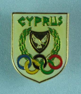 Badge, Cyprus Olympic Committee