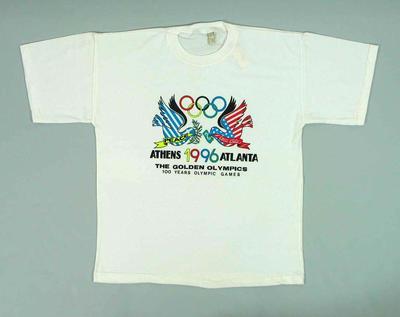 T-shirt, commemorates 100 Years Olympic Games Athens-Atlanta