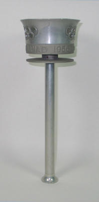 Relay torch, 1956 Olympic Games; Sporting equipment; 1996.3187