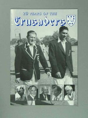 """Magazine, """"20 Years of The Crusaders"""""""
