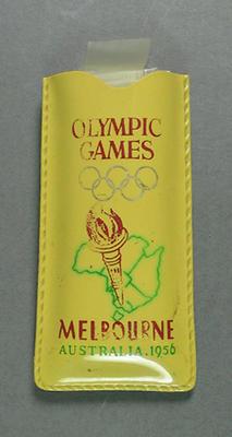 1956 Olympic Games souvenir pouch for rain hat
