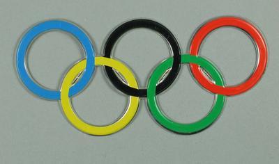 Souvenir aluminium Olympic Rings