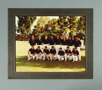 Photograph of Victorian cricket team, date unknown
