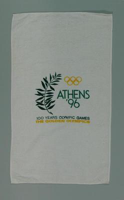 Towel, Athens 1996 Olympic Games bid