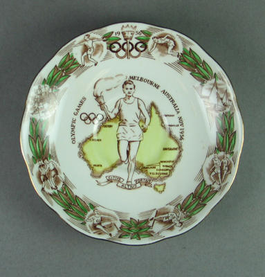 Saucer, 1956 Olympic Games
