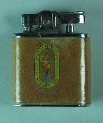 Cigarette lighter, 1956 Olympic Games