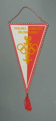 Wall hanging, Polish Olympic Committee