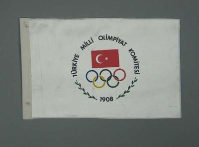 Wall hanging, Turkish Olympic Committee c1990
