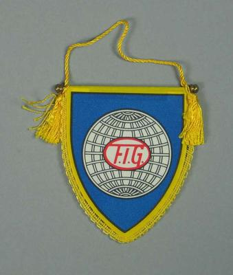 Wall hanging, Federation of International Gymnastics c1990