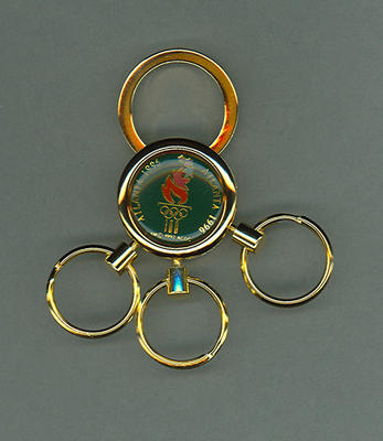 Key ring, 1996 Atlanta Olympic Games design