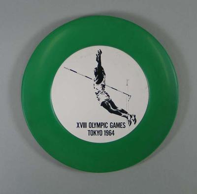 Plate, 1964 Tokyo Olympic Games design