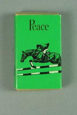 Cigarette pack, 1964 Tokyo Olympic Games design