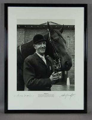 Photograph of Bill Roycroft, taken by Max Dupain c1992