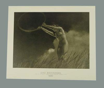 "Print, ""LENI RIEFENSTAHL - The XI Olympic Games Photographs Berlin 1936"""
