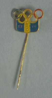 Stick pin, 1964 Tokyo Olympic Games