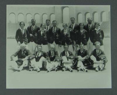 Photograph of Australian 1932 Olympic Games team
