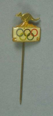 Stick pin, Australian Olympic logo