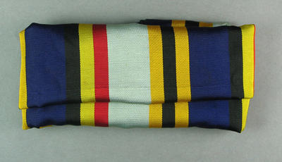 Sash, worn by cricketer William Bruce in 1893