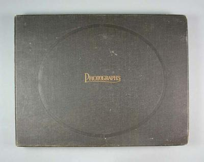 Photograph album, containing photographs of 1936 Berlin Olympic Games