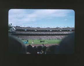 Colour slide: 1956 Melbourne Olympic Games, Vladimir Kuts USSR 10,000 Metres