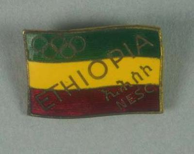 Badge, Ethiopian Olympic team