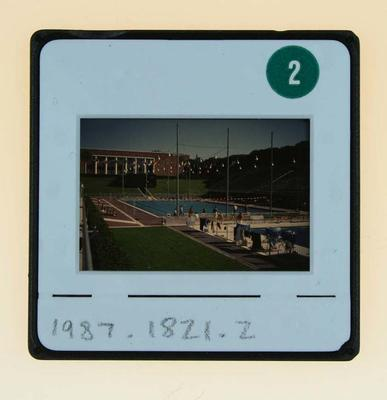 Slide depicting Swimming Pool, 1960 Olympic Games