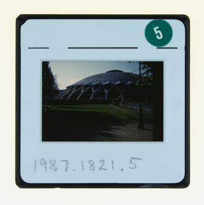 Slide depicting Basketball Stadium, 1960 Olympic Games