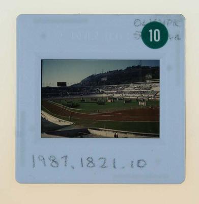 Slide depicting Stadio Olimpico, 1960 Olympic Games