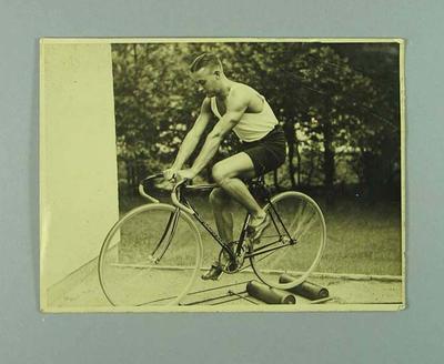 Photograph of Chris Wheeler, 1936 Berlin Olympic Village