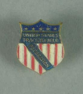 Lapel pin, United States Track & Field Federation