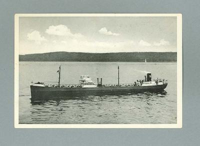 Photograph of Franz Klasen tanker, c1930s-40s