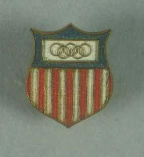 Badge, United States 1956 Olympic Games team