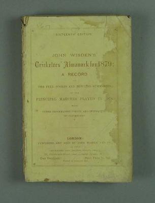 Wisden Cricketers' Almanack, 1879