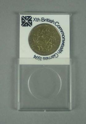 Commemorative coin, 1974 Commonwealth Games