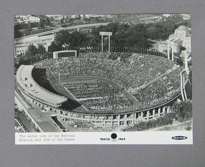 Photograph of 1964 Tokyo Olympic Games Opening Ceremony