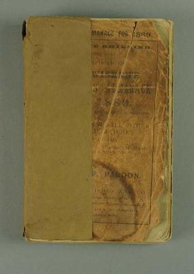 Wisden Cricketers' Almanack, 1889