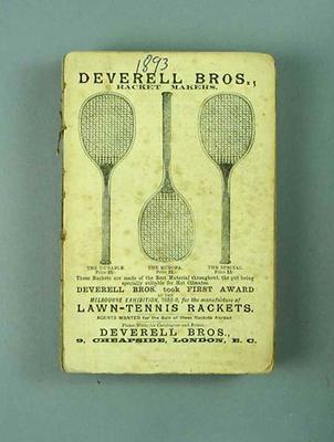 Wisden Cricketers' Almanack, 1894