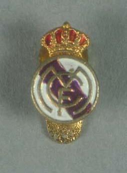 Lapel pin, Real Madrid Club de Fútbol