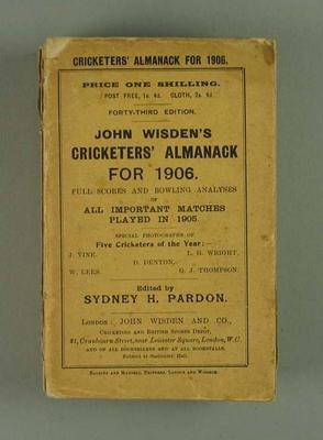 Wisden Cricketers' Almanack, 1906