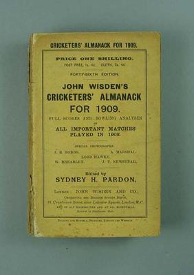 Wisden Cricketers' Almanack, 1909