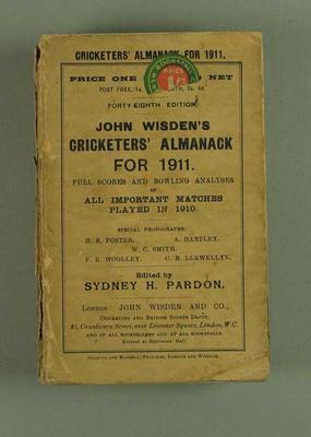 Wisden Cricketers' Almanack, 1911