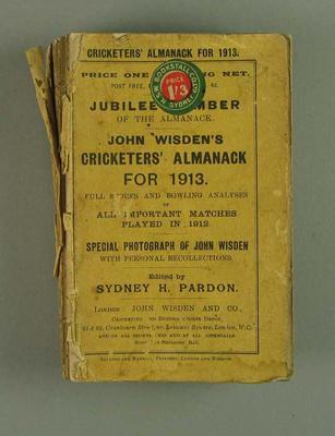 Wisden Cricketers' Almanack, 1913