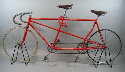 Tandem bike ridden by Ian Browne and Tony Marchant in 1956 Olympic Games