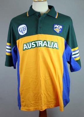 Australian limited overs cricket shirt, c 1999