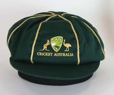 Baggy green style cap, Cricket Australia logo