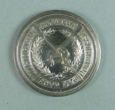 Medal, Victorian Rowing Association Ballarat Rowing Club Champion Eight 1904