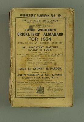Wisden Cricketers' Almanack, 1924