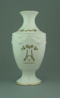 Vase, Hambledon design; Domestic items; M5091