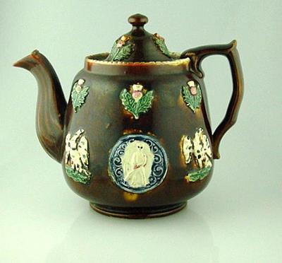 Teapot, cricket design